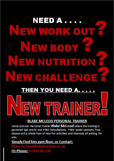 personal training virgin active all fit no sh t